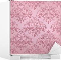 Kühlschrank Aufkleber : Kühlschrankaufkleber nahtlose damast muster u2022 pixers® wir leben