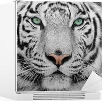 Kühlschrankaufkleber Weiße tiger