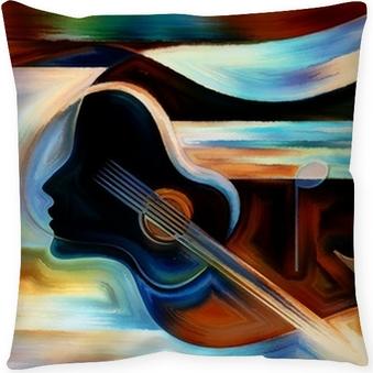 Kussensloop Materiaal of Music