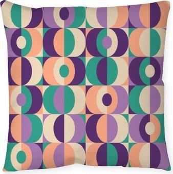 Kussensloop Naadloze vintage geometrisch patroon