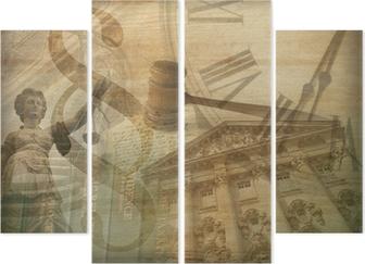 Kwadryptyk Sprawiedliwości collage