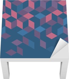 Lack-Bord Finér Abstrakt fargerik retro geometrisk moderne mal for forretnings- eller teknologibilde og plass til tekst eller emne, vektorillustrasjon