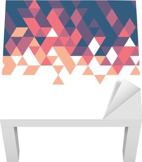 Lack-Bord Finér Retro geometrisk mal for forretnings- eller teknologibilde og plass til tekst eller emne, vektorillustrasjon