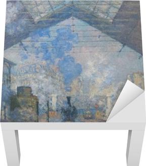 Claude Monet - Gare St. Lazare Lack bord klistermærke