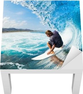 Surfing Lack bord klistermærke