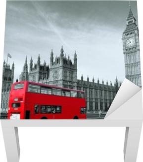 Bussi lontoossa Lack-pöydän Pinnoitus