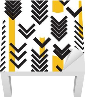 geometry seamless pattern Lack Table Veneer