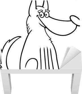 Sad Dog Cartoon Coloring Page Wall Mural U2022 Pixers® U2022 We Live To Change