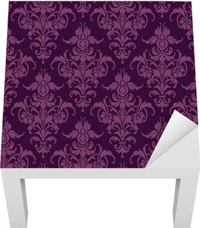 Papier peint Floral Lack Table Veneer