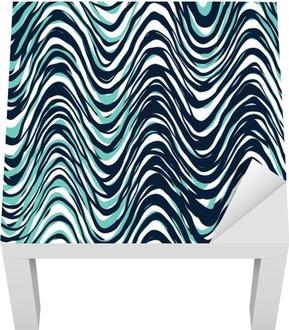 Seamless Pattern Lack Table Veneer