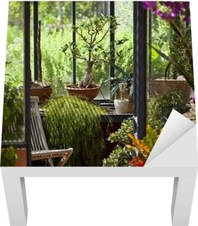 Veranda Jardin. Awesome Jardin Dhiver Ou Veranda Pour Y D Arty ...
