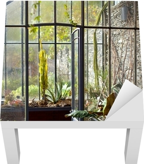 Veranda Serre Maison Interieur Jardin Jardinage Poster Pixers
