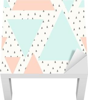 Lack Tafelsticker Abstract geometrisch patroon