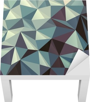 Lack Tafelsticker Driehoek abstract geometrisch patroon