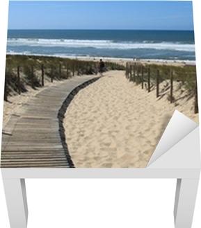 Lack Tafelsticker Strand Grote Crohot, Gironde