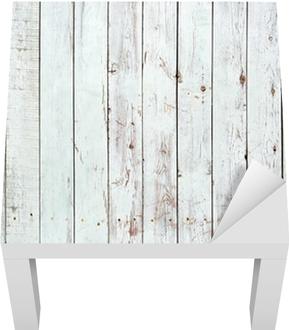 Lack-Tischaufkleber Schwarze und weiße Hintergrund von Holzbrett