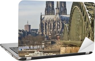 Laptop-Aufkleber Kölner Dom-
