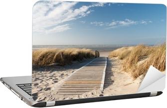Laptop-Aufkleber Strand an der Nordsee