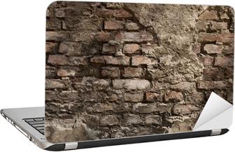 Alte Wand - Hintergrund - Backstein Laptop Klistermærke