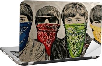 Banksy Laptop Klistermærke