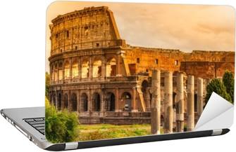Det Majestætiske Colosseum, Rom, Italien. Laptop Klistermærke