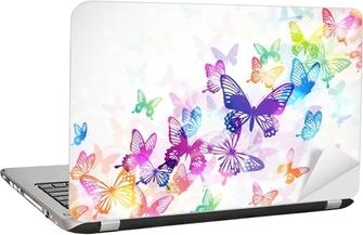 蝶々 Laptop Sticker