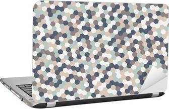 Abstract hexagon Laptop Sticker
