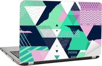 Art geometric background Laptop Sticker