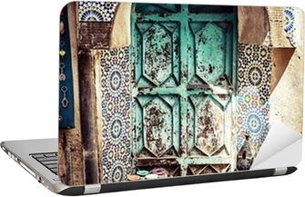 Tegel Decoratie Stickers : Poster detail van het mooie tegel mozaïek decoratie fez marokko
