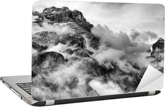 Dolomites Mountains Laptop Sticker