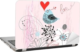 Laptop Sticker Dwergpapegaai