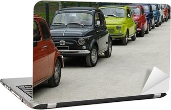 Laptop Sticker Fiat 500 Rally
