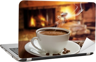 Image result for images of a laptop with a cup of coffee near it