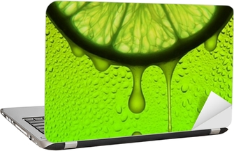 lemon juice Laptop Sticker