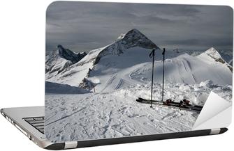 Mountain-skiing Laptop Sticker