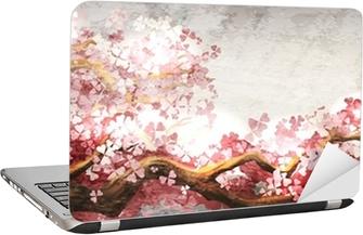 Laptop Sticker Sakura tak bloeien