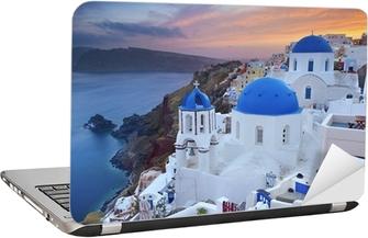 Santorini. Laptop Sticker