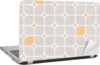 seamless geometric pattern Laptop Sticker