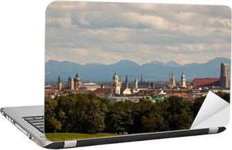 Skyline München Laptop Sticker