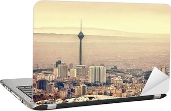 Tehran Skyline Laptop Sticker