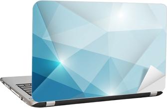 Laptopdekor Abstrakt geometrisk trianglar bakgrund