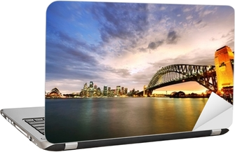 Sydney Harbour Panorama ved skumring