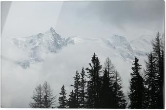 Lasitaulu Vuoren huipulla