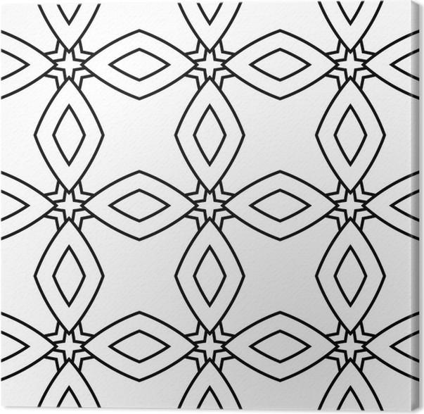 Leinwandbild Abstract seamless (Fliesen, Muster) Hintergrund ...