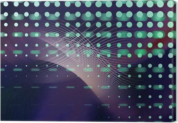 Leinwandbild Abstrakt bewegung technik din a 3 • Pixers® - Wir leben ...