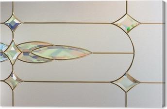 Leinwandbild Abstrakt Glas Hintergrund