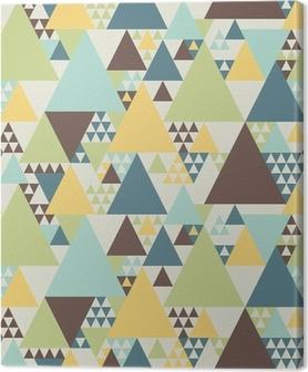 Leinwandbild Abstrakte geometrische Muster # 2