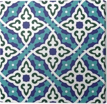 Leinwandbild Ainur Seamless Tile