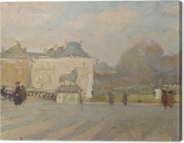 Leinwandbild Albert Marquet - Blick auf den Luxemburgischen Palast - Reproductions