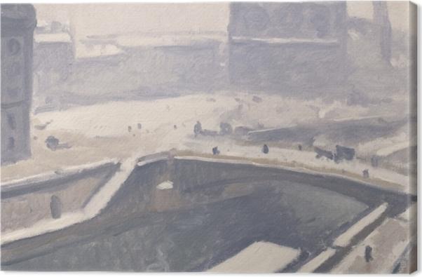 Leinwandbild Albert Marquet - Blick auf Notre-Dame - Reproductions